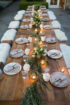 Great Outdoors - Thanksgiving Day Tables That Are #Goals - Photos #outdoorparty