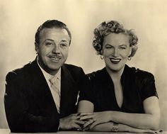 Film Director Monty Banks & his wife Gracie Fields. Image from http://images.npg.org.uk/800_800/9/4/mw18594.jpg.