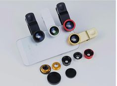 Fish eye lens 3 in 1 universal mobile phone camera wide+macro+fisheye lenses for iphone samsung universal cell phone lenovo LG //Price: $US $1.41 & FREE Shipping //     #samsung