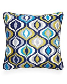 Select size Blue Mali  Birch Frost Pillow Cover Made in USA Blue Sham