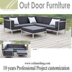 90688 New Modern Grey Wicker Pe Rattan Cushion Outdoor Garden Sofa Set  Swimming Pool Leisure Coffee Shop Bar Cheap Furniture Set   Buy Good Quality  Grey ...
