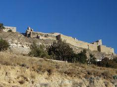 Kerak Castle, which was built by the Crusaders, now part of the modern city of al-Karak, Jordan. Photo: Brian Kaylor.