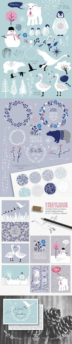 Winter Wonderland Designer's Toolkit - https://www.designcuts.com/product/winter-wonderland-designers-toolkit/
