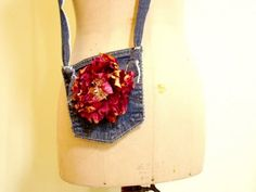 Cute little Jean pocket Purse!