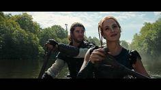 #TheHuntsman #WintersWar #MSR  #ChrisHemsworth as #TheHuntsman / #Eric #JessicaChastain as #Sara #Action #adventure #Drama #bow #arrow #fantasy #dwarf #queen #huntsmen #winter #north #April #2016 #movies #moviephoto  @jessicachastaindaily @chastainiac @chrishemsworth @_emily_blunt_