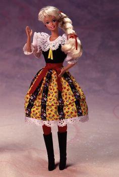 1991 Czechoslovakian Barbie® Doll | Barbie Collector, Release Date: 1/1/1991 Product Code: 07330, $_