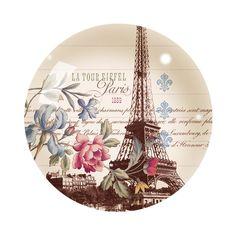 La Tour Eiffel Glass Paperweight by Fringe Studio Paris Vintage, Romantic Paris, Bottle Cap Crafts, Bottle Caps, Paris Images, Decoupage Vintage, Bottle Cap Images, Glass Paperweights, Vintage Labels