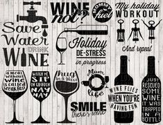 Cricut Projects Discover wine svg bundle wine clipart svg files for silhouette cricut files png files wine printable digital art vector files sign svg vinyl Cricut Vinyl, Svg Files For Cricut, Vinyl Crafts, Vinyl Projects, Clipart, Teacher Signs, Wine Quotes, Bar Quotes, Silhouette Cameo Projects