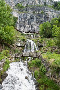 St. Beautus-Höhlen. Interlaken Switzerland