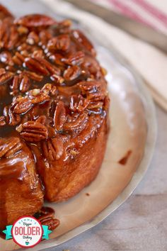 Best Ever Sticky Buns Recipe (No Machine) - Gemma's Bigger Bolder Baking The Ultimate Sticky buns recipe - I have worked a very long time as a baker and hands down this is the best recipe I have ever tried. Sticky Pork, Sticky Toffee, Sticky Buns, Sticky Chicken, Brunch Recipes, Breakfast Recipes, Breakfast Ideas, Crockpot Cinnamon Rolls, Caramel Rolls
