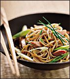 Soba Noodle Salad with Smoked Duck Recipe on Food & Wine