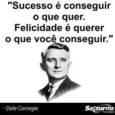 A inveja nunca deixou ninguém feliz, então ama aquilo que tem de bom e seja feliz. #satturno - http://www.satturno.com.br
