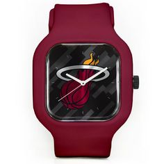 Miami Heat Modify Watches Unisex Silicone Watch - Red