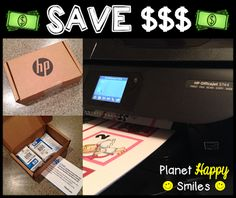 Save Money and Time Using HP Instant Ink! Read all about it!