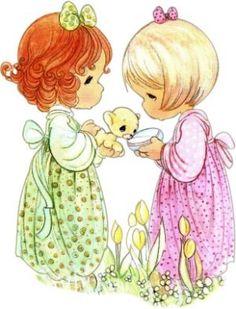 pics of precious moments | Precious Moments - gosto muito destes personagens tão meigos.
