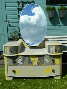 Up-cycled dressing table by clarabella christie