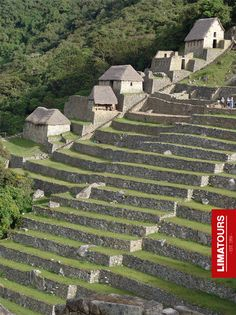 """Amazing #agricultural terraces known as """"andenes"""", a great example of #Inca engineering in #Cusco - #Peru"""