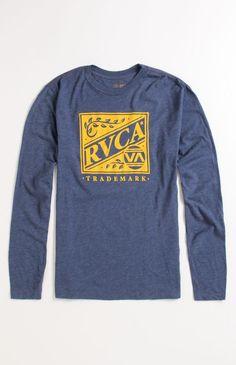 #RVCA Crate Long Sleeve Tee
