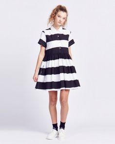 Lazy Oaf Zebra Crossing Dress - Clothing - NEW IN - Womens