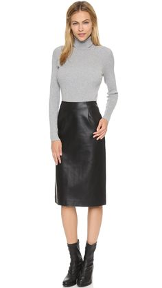 5102176292d 54 Best Leather pencil skirt images
