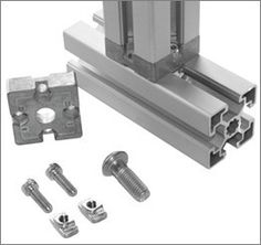 A Line Automation leads the way with T-Slot Aluminum Framing Systems that are compatible with Bosch and T-Slot Systems. Cnc, Folding House, Router Sled, Diy Furniture, Furniture Design, Aluminum Trailer, Grinding Machine, Extruded Aluminum, Tool Organization
