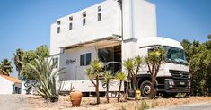 The 'Truck Surf Hotel' is an amazing double-decker pad for wave chasers