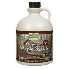 Now Foods 100% Pure Maple Syrup 64 fl oz
