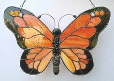 Orange butterfly SG