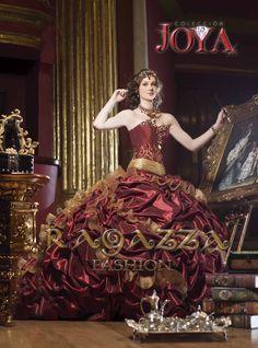 un vestido de la colección joya