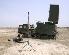 ARTHUR Weapons Location Radar