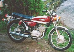 My second bike - 1972