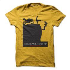 Biker or ME ? T Shirts, Hoodies, Sweatshirts - #tshirt #shirt designs. GET YOURS => https://www.sunfrog.com/Automotive/Biker-or-ME-.html?60505
