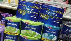 A display on the University of California, Merced campus demands free tampons and other feminine hygiene products. British Government, Big Government, Goods And Service Tax, Goods And Services, Tampon Tax, Westminster School, Man Bathroom, Gender Studies, Brown University