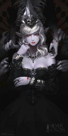 vampire elf lady