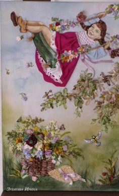 (1) Gallery.ru / Фото #1 - моя вышивка лентами - irina-zubkova