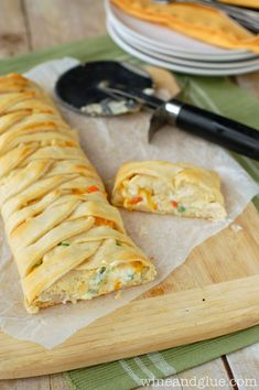Chicken Pot Pie Crescent Braid | 29 Insanely Delicious Things You Can Make With Crescent Roll Dough