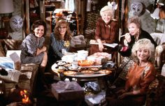 50 powerful leading ladies Julia Roberts, Sally Field, Daryl Hannah, Olympia Dukakis, Shirley Maclaine and Dolly Parton in 'Steel Magnolias'