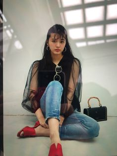 Asian Model Girl, Asian Girl, Yumiko, Cute, Clothes, Women, Japan, Shoulder Bag, Models