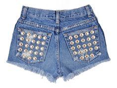 Omen Eye Store - Capella, $88.00 (http://www.omeneye.com/capella)  omeneye, cut off shorts, vintage denim shorts, studded cut off shorts, cutoff shorts, shredded shorts, studded shorts, denim shorts, omen eye, destroyed high waisted shorts, jean cutoff shorts, high waisted studded denim shorts, vintage studded shorts, black cutoff shorts, high waisted studded shorts, high waisted shorts, studded short, vintage levi jean shorts