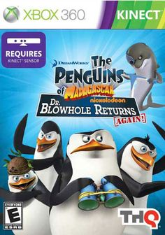 Dreamworks Xbox 360 - Penguins Of Madagascar: Dr. Blowhole Returns Again