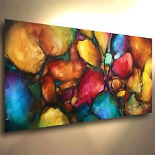Abstract Art Painting modern Contemporary DECOR Michael Lang certified original