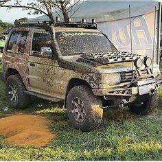 Mitsubishi Shogun, Mitsubishi Pajero, Muddy Trucks, 4x4 Trucks, Mk1, 4x4 Off Road, Expedition Vehicle, Top Cars, Truck Accessories