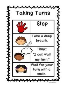 Social Skills 101: Taking TurnsPut your students in the self-control drivers seat, eliminate behavioral problems before they occur, and teach and model emotional regulation with this Social Skills 101 Training Series. Each packet:Addresses an important social skill.