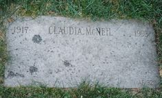 "Claudia McNeil - Actress. She first worked as a singer for the Katharine Dunham dance company, then toured as a single all over the world and performed on the New York stage in the early 1950s. She made her screen debut in ""The Last Angry Man"" (1959), followed by ""A Raisin in the Sun"" (1961) and ""Roll of Thunder, Hear My Cry"" (1978). For television, she appeared on the series ""The DuPont Show of the Month"", ""The Nurses"" and in the TV movie ""Roots: The Next Generations"" (1979)."