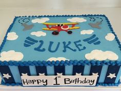 https://flic.kr/p/kjRitK | Air Plane Sheet cake (2417)…