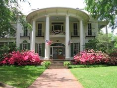 The beautiful 1859 Goodman-LeGrand House and Museum in Tyler, Texas is open for visitors or may be rented for special events!
