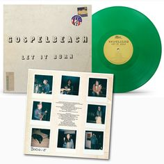 "NEW ARRIVAL! GOSPELBEACH ""Let it Burn"" on GREEN VINYL, NOW WITH INSERT! 