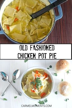 Traditional Pennsylvania Dutch chicken pot pie This recipe is comfort food at it s finest A one pot old fashioned dinner with homemade noodles that s sure to please This is by far one of me and Pennsylvania Dutch Chicken Pot Pie Recipe, Pa Dutch Pot Pie Dough Recipe, Pennsylvania Dutch Recipes, Homemade Chicken Pot Pie, Chicken Recipes, Amish Chicken Pot Pie Recipe, Pot Pie Squares Recipe, Amish Recipes, Cooking Recipes