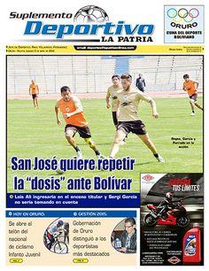 """San José quiere repetir la """"dosis"""" ante Bolívar"""