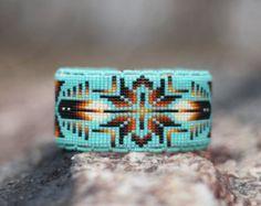 Native American (Oglala Lakota) handmade Beaded Bracelet